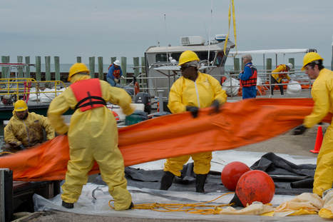 Assessing the Damage from the Galveston Bay Oil Spill - The Texas Observer | Oil Spill | Scoop.it