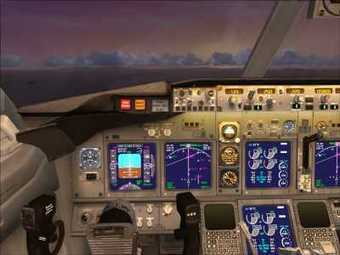 FSX - 2D-VC Panel Set For The TDS Boeing 737-80