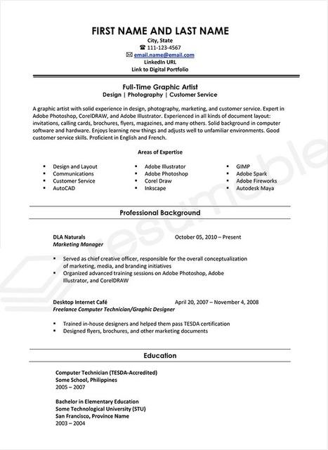 Freelance Resume Sample Freelance Writer Resu