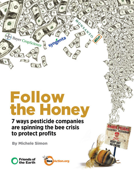 Follow the Honey: 7 Ways Pesticide Companies are Spinning the Bee Crisis to Protect Profits   Eat Drink Politics   Sustainable Communities   Scoop.it