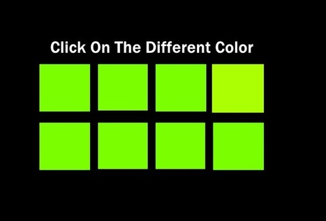 Can You Actually See All The Colors?   pixels and pictures   Scoop.it