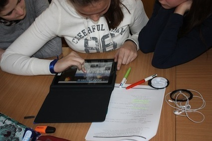 Tablettes numériques et histoire de l'art en classe de 3ème8 - [Collège de Sèvres] | histoire des arts CRDP Toulouse | Scoop.it