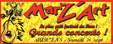 Festival Marz'Art at Marz'Art festival MARZENS 26/09/201 | France Festivals | Scoop.it