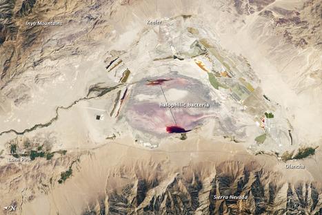 Owens Lake, California   Geospatial   Scoop.it