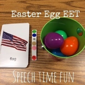 Easter EET Fun!  (fun ways to incorporate the EET during Easter time!) | Speech-Language Pathology | Scoop.it