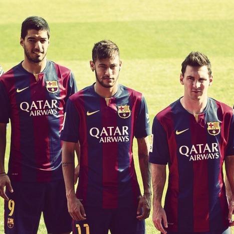 Messi Suarez Neymar HD Images