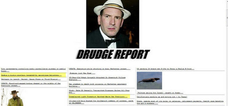 Does Matt Drudge believe in Doomsday 2012 and UFOs? | Weird News and Celebrity Gossip by Tom Rose | Scoop.it