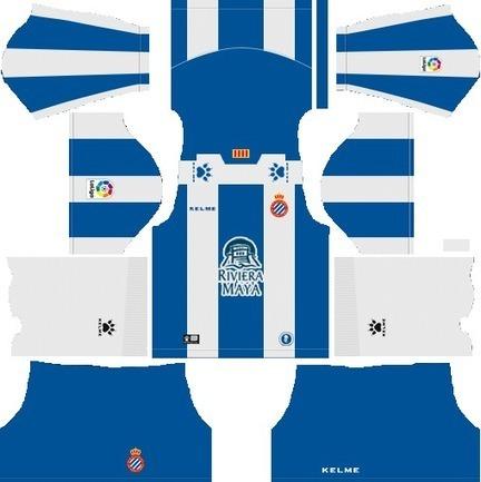 RCD Espanyol 2018-19 Dream League Soccer Kits &