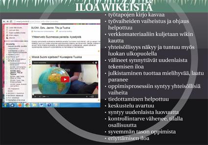 Wiki oppimisalustana ja luokan yhteisenä tilana verkossa - esitys aukikirjoitettuna | Tablet opetuksessa | Scoop.it