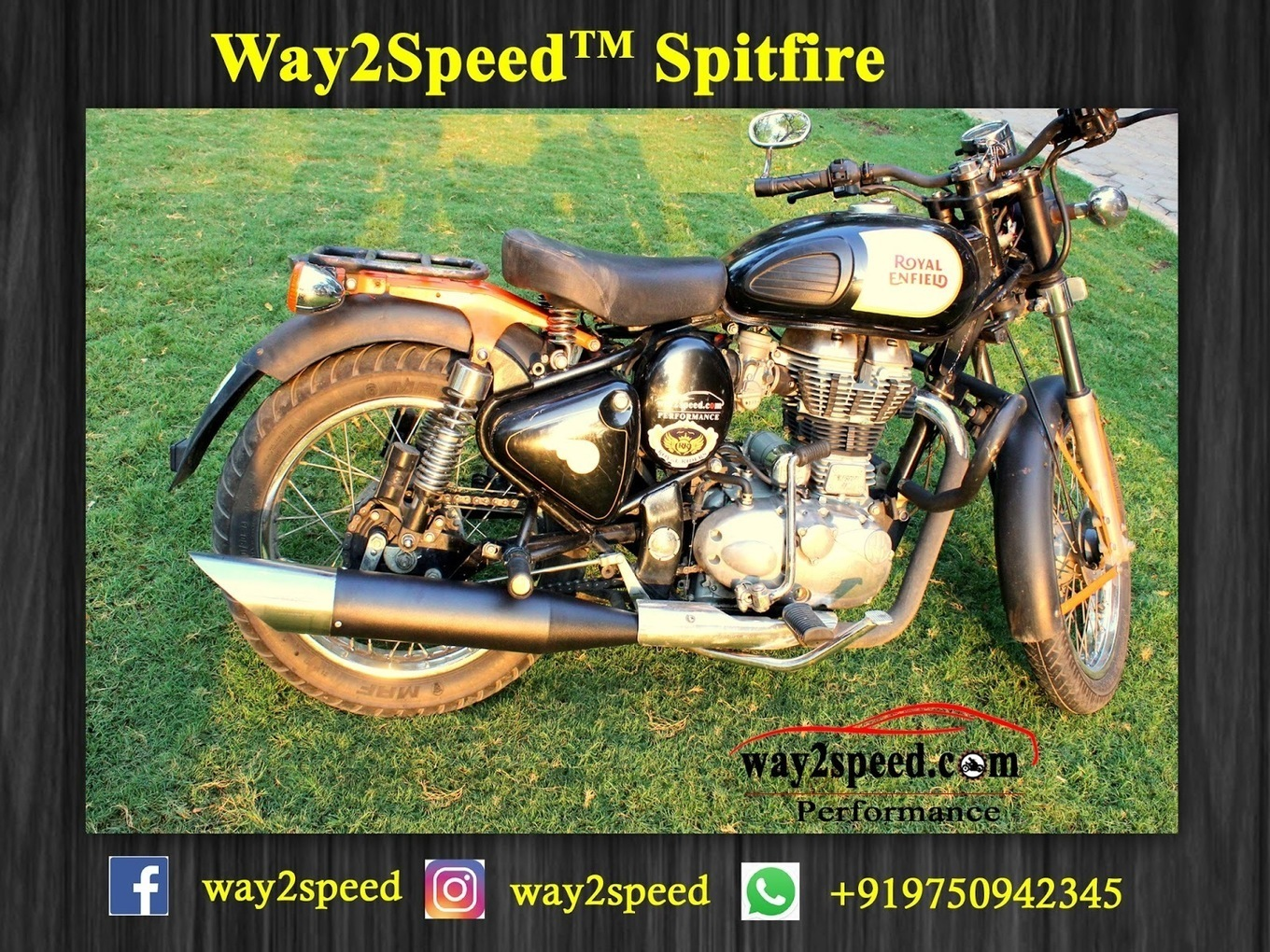 Way2speed Spitfire Silencer For Royal Enfield Two Brothers Kawasaki Ninja 650 M 2 Silver Series 1 Full Exhaust System 2012 16 Carbon Fiber Canister