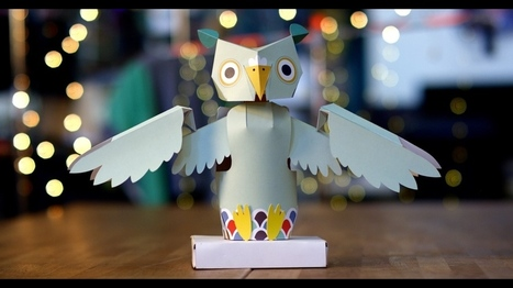 Oomiyu | A Playful Arduino 101-based Cardstock Robot Owl Kickstarter Campaign | Raspberry Pi | Scoop.it