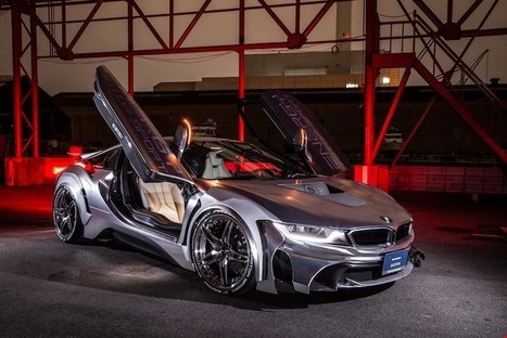 Surprised At The Appearance Of The Bmw I8 After