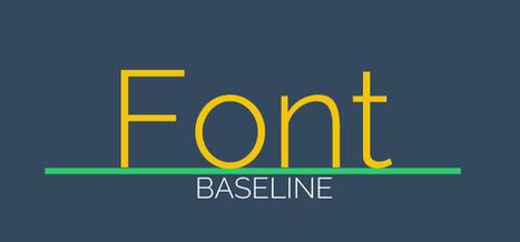Tipografía Web Efectiva: Reglas, Técnicas y Diseño Adaptativo | Aplicaciones y Herramientas . Software de Diseño | Scoop.it