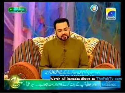 Seher Aamir Liaquat (Pehchan Ramzan) 28th July 2012 | Watch Pakistani Tv Dramas Online for free | Excellent Pent Coat For Men 2012 | Scoop.it