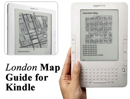 Maps on Kindle- Introducing London Map Guide | Lovell Johns | Urban Life | Scoop.it