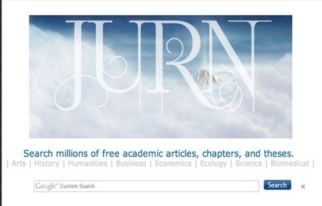 The Best Websites for Finding Academic Books and Journals ~ Educational Technology and Mobile Learning | Information Literacy & Digital Literacy | Scoop.it