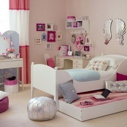 60 Classy Girls Bedroom Decorating Ideas 2013 | Air Circulation and Ceiling Fans | Scoop.it