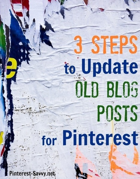 3 Easy Steps to Update Blog Archives for Pinterest | Social Media Collaboration | Scoop.it
