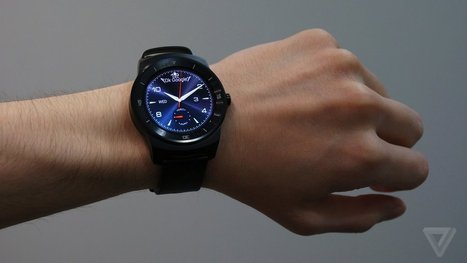 This is the LG G Watch R | Nerd Vittles Daily Dump | Scoop.it