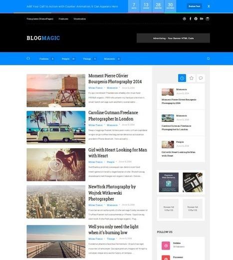 Best Wordpress Blog Themes Web Design Spider