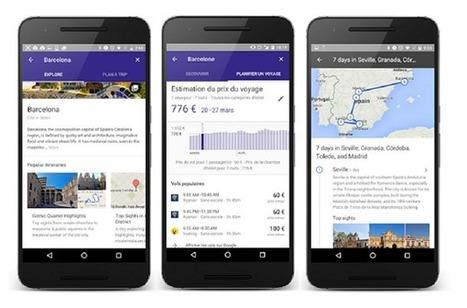 Avec Destinations, Google joue l'organisateur de voyages | Emarketing & Tourisme | Scoop.it