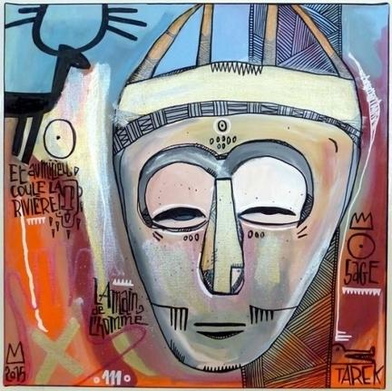 Tarek | Mask - Artsper | Les créations de Tarek | Scoop.it