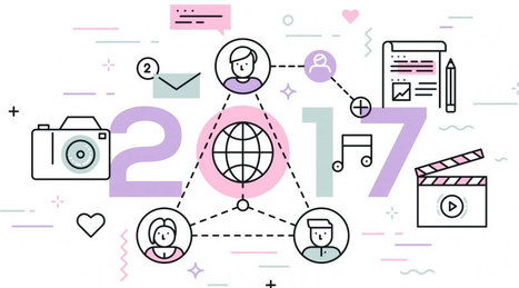 6 Tendances Réseaux Sociaux pour 2017 - Je bosse dans le web | Dynamiser sa présence numérique | Scoop.it