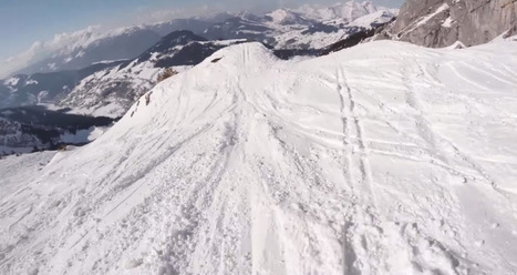 Cette vidéo spectaculaire vous met dans la peau d'un skieur de l'extrême qui dévale une montagne à toute vitesse | Informatique et autres geekeries | Scoop.it
