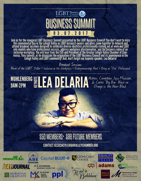 LGBT Business Council Summit - Allentown, PA - Mar 7 | LGBT Online Media, Marketing and Advertising | Scoop.it