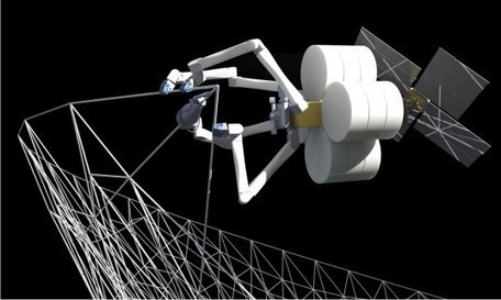 NASA to Use Giant 3D Printing Spider Robots to Construct Huge Spacecraft | FutureChronicles | Scoop.it