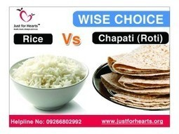 What is more healthy - rice or chapati? | Diet Plans : Make Healthier Food Choices! | Scoop.it