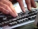 Laughably fake typing in news report goes viral - video - Digital Spy | In Today's News of the Weird | Scoop.it