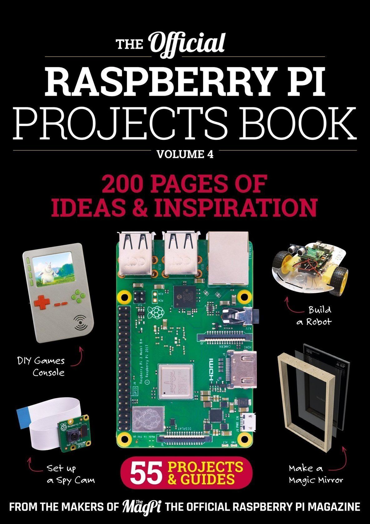 The official Raspberry Pi Projects Book - Volum