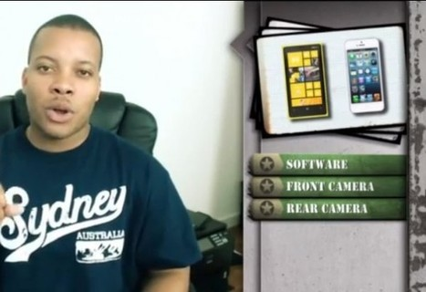Video: CAMERA BATTLE! iPhone 5 vs Nokia Lumia 920 – Soldier's ... | HDSLR news | Scoop.it