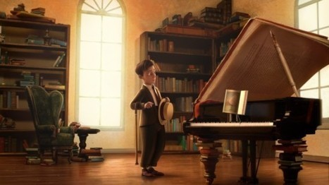 Watch 'The Fantastic Flying Books of Mr. Morris Lessmore', The Academy Award ... - /FILM (blog) | Animation | Scoop.it