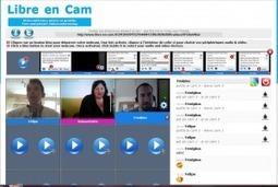 Libre-en-cam : service de visioconférence gratuit jusqu'à 9 personnes | TICE & FLE | Scoop.it