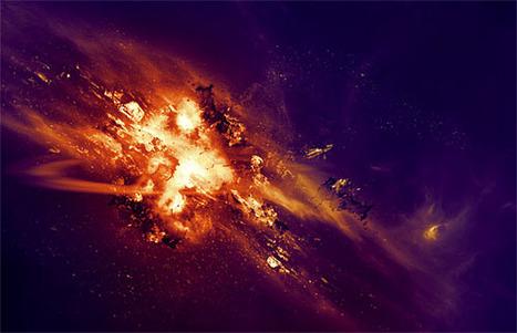 Explosion Cosmique avec Photoshop - Tutoriel | Time to Learn | Scoop.it