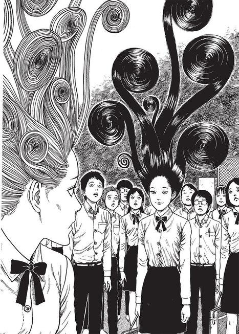 La bédéthèque idéale #89 : Tableau d'horreur pour le mangaka Junji Ito | Télérama | Actualité du Japon dans les médias français | Scoop.it