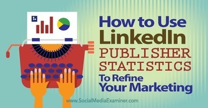 How to Use LinkedIn Publisher Statistics to Refine Your Marketing | geeky and fun social media news | Scoop.it