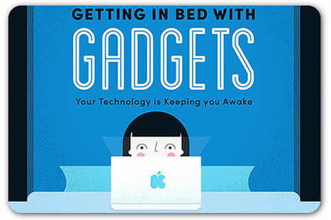 Looking at smartphones and tablets in bed hurts your sleep patterns   Articles   Home   Infographics for English class   Scoop.it