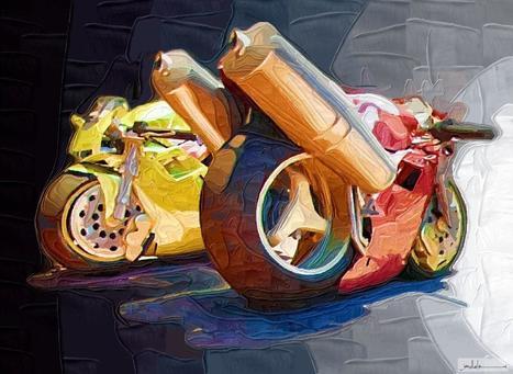 Ductalk - DucatiArt | Wallpaper on deviantART | ducati 748 by XcichociemnyX | Ductalk Ducati News | Scoop.it