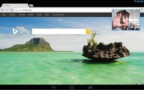 Skype sur Android vous permet de maintenir un contact visuel en multitâche | TICE en tous genres éducatifs | Scoop.it