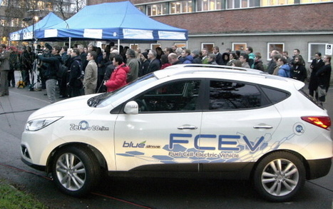 Hyundai Provides Zero-Emissions Hydrogen Fuel Cell ix35 to Municipality of Copenhagen | FuelCellsWorks | Sustainable Urban Future | Scoop.it