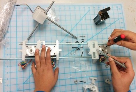 Printrbot Learn Living Document Picks Up Steam: First Draft of Curriculum ... - 3DPrint.com | Digital Learning | Scoop.it