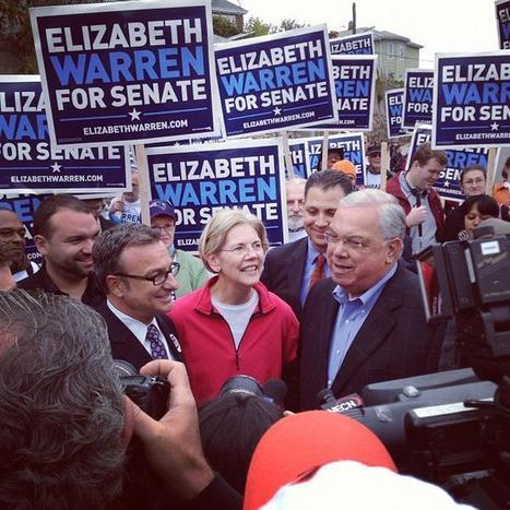 photo: Elizabeth Warren & Tom Menino in Orient Heights @ East Boston Columbus Day Parade via @jhaley617 | Massachusetts Senate Race 2012 | Scoop.it