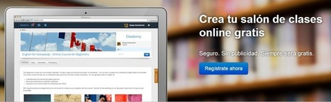 Crea cursos online facilmente con Eliademy | Comunicación y Educación en la Red | Scoop.it