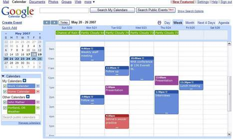 Bloquer les invitations automatiques dans Google Calendar | Time to Learn | Scoop.it