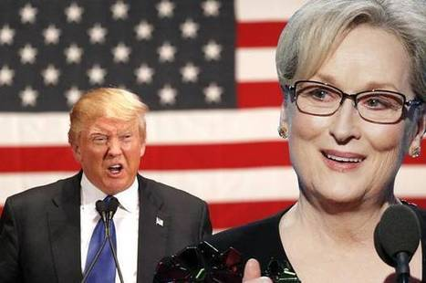 "Donald Trump slams ""overrated"" Meryl Streep after her epic Golden Globes speech 