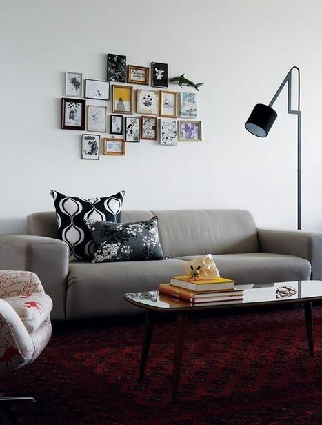 Visite déco : Un petit appartement vintage | DecoCrush blog déco, idées déco | décoration & déco | Scoop.it
