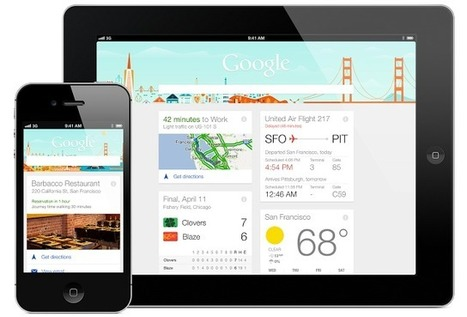 Google Now on your #iPhone and #iPad, with the @Google Search #app | @iSchoolLeader Magazine | Scoop.it